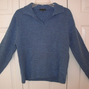 Carolyn Taylor Blue Pull-Over Sweater, size Large